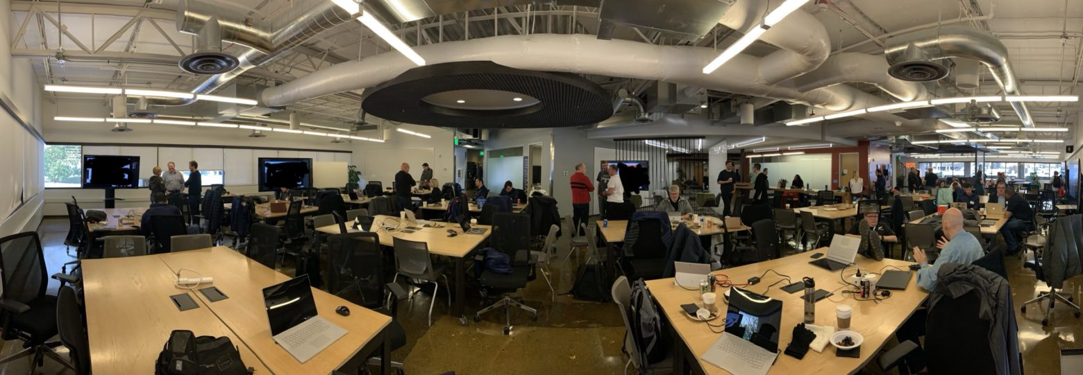 Working at the Microsoft Reactor Redmond